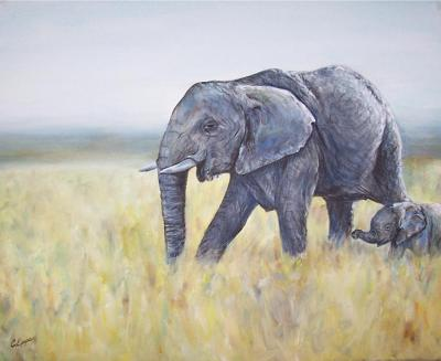 wildlife paintings, animals, birds, sea creatures
